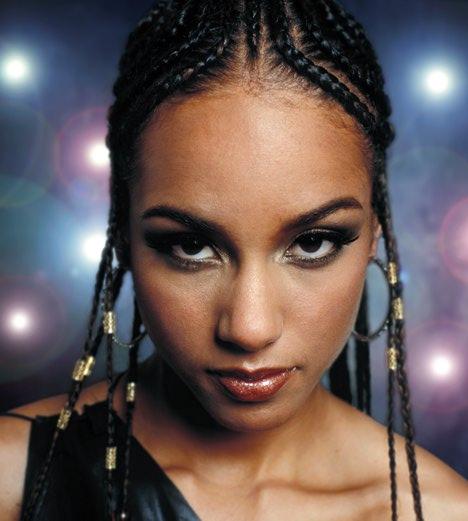 Coiffure Tresses Alicia Keys   nanadianadera blog